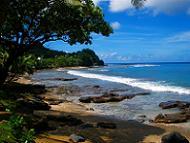 kanarian saaret, kivikkoista rantaa